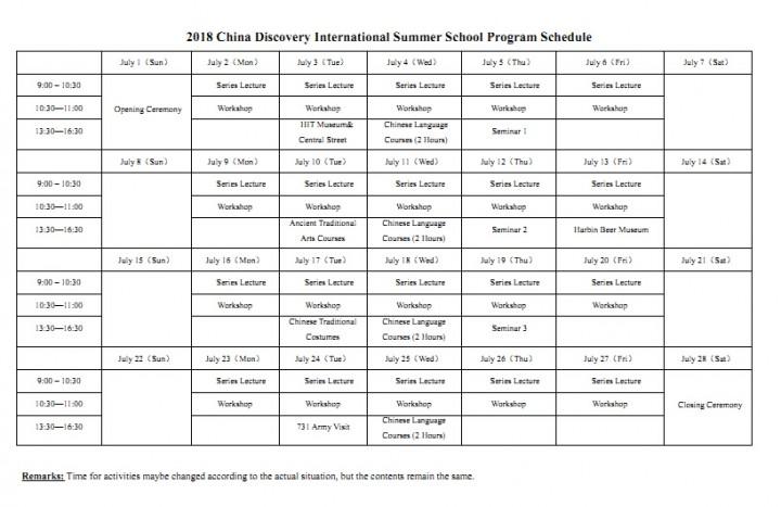 2019 HIT Summer School