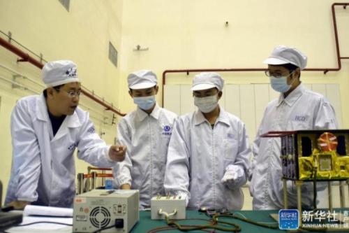 Xinhua News Agency Praised Lilac Nano-Satellite Team