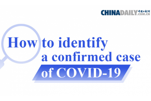 How to identify a confirmed case of COVID-19