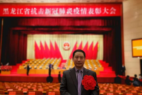 Academician Tan was honored for fighting COVID-19