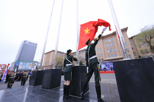 Students of HIT celebrate the 6th China Space Day of