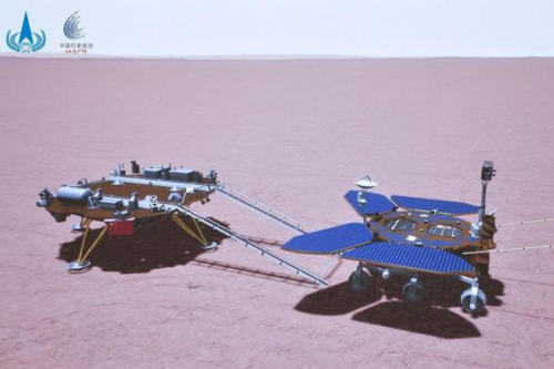 HIT Makes Contribution to Tianwen-1 Again: Mars Rover Movement & Transfer