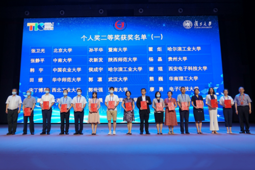 Prof. HUO Ju and Associate Prof. HOU Chengyu won the second prize  in the First National Teaching Innovation Contest for College Teachers