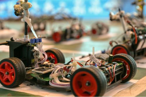 A New Record! HIT Students Won the Championship in the National University Students Intelligent Car Race
