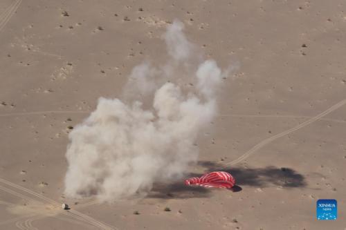 Shenzhou-12 astronauts land safely